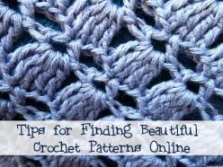 Tips for Finding Crochet Patterns Online