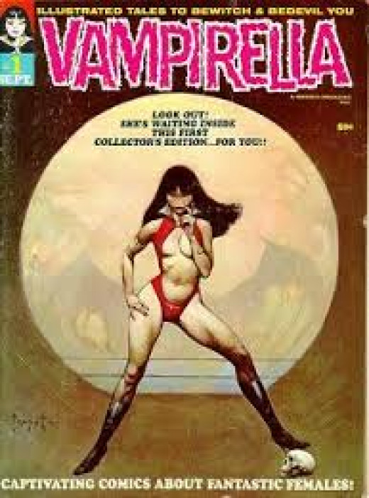 Vampirella # 1 from Warren Publishing.