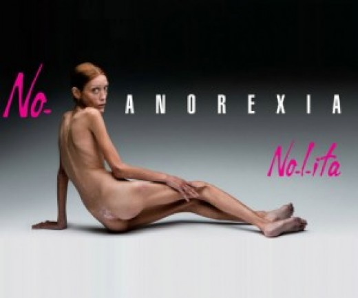 Isabelle Caro was literally the billboard girl against anorexia.