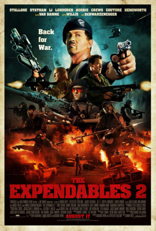 The Expendables 2 Released August 16, 2012