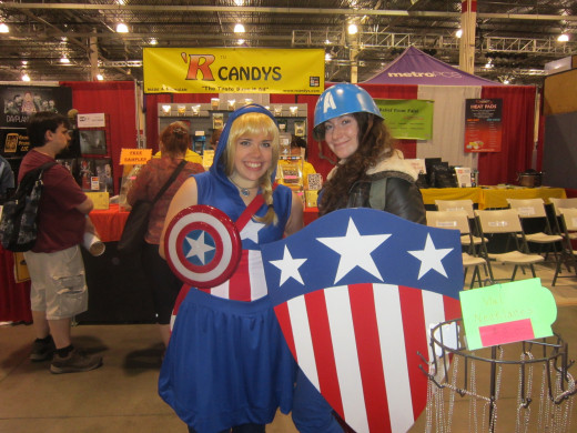 A couple of Captain Americas!
