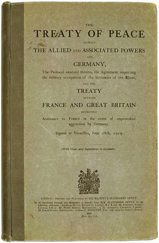 The English language version of the Treaty of Versailles