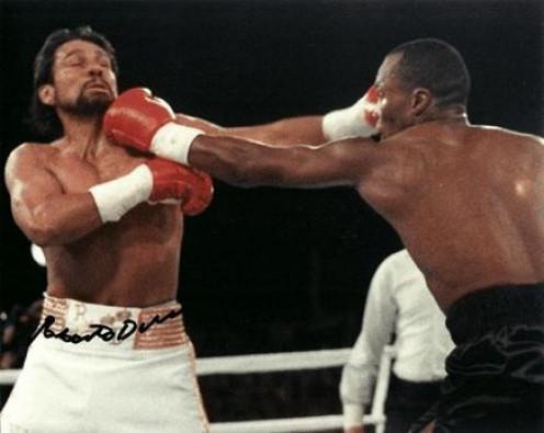 Roberto Duran and Sugar Ray Leonard fought three times inside the squared circle with Leonard winning twice.