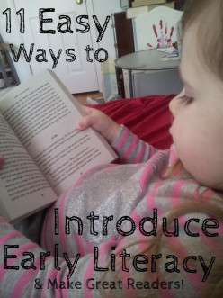 Easy Ways to Introduce Literacy to Kids in Every Day Life