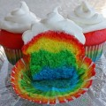 How To Bake Rainbow Cupcakes With Food Colouring And Organic Dye