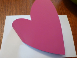 Pre-made heart cards