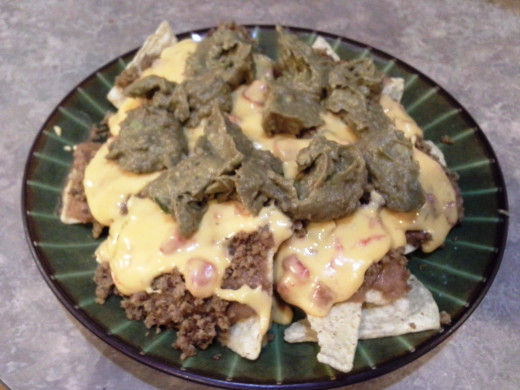 Easy Peasy Hamburger Nachos