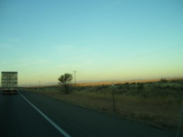Here is the landscape during my drive.