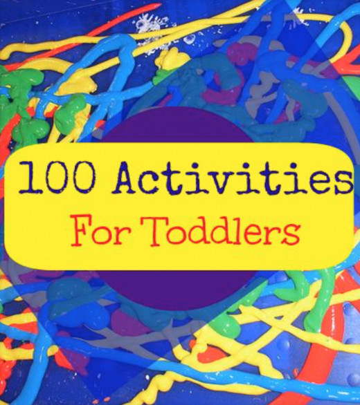 100 activities for toddlers