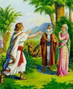 REBEKAH MEETS ISAAC