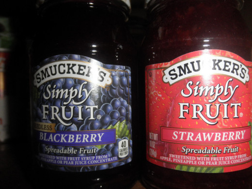 Smuckers Simply Fruit