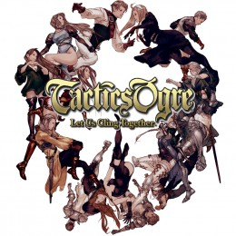 The cover for the PSP remake of Tactics Ogre: Let Us Cling Together