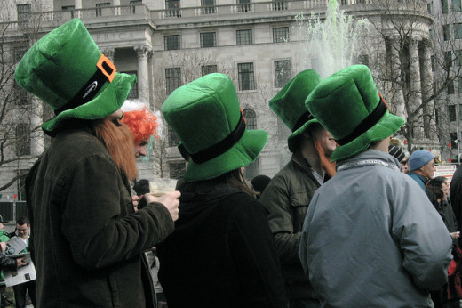 Leprechaun Hats are the first step to a great costume for St. Patrick's Day!