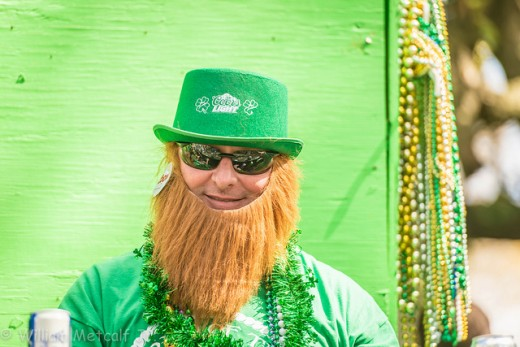 Your Leprechaun Costume should also include a beard!