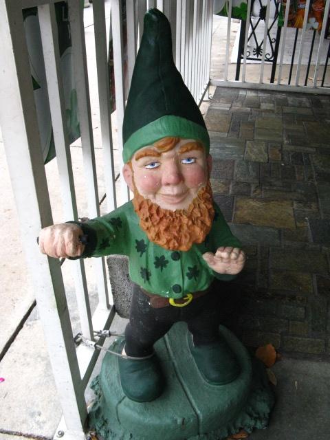 Leprechaun Garden Gnome