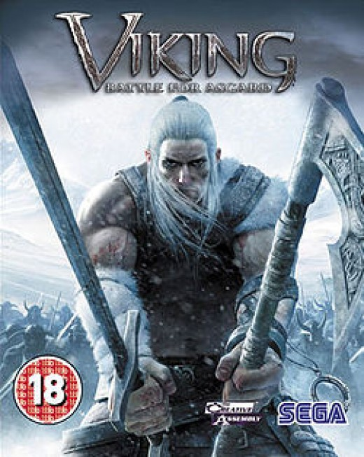 The cover for Viking: Battle for Asgard