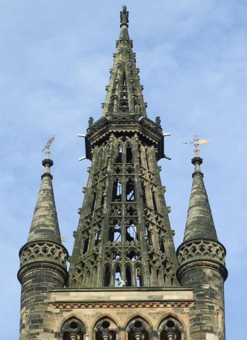Glasgow University tower