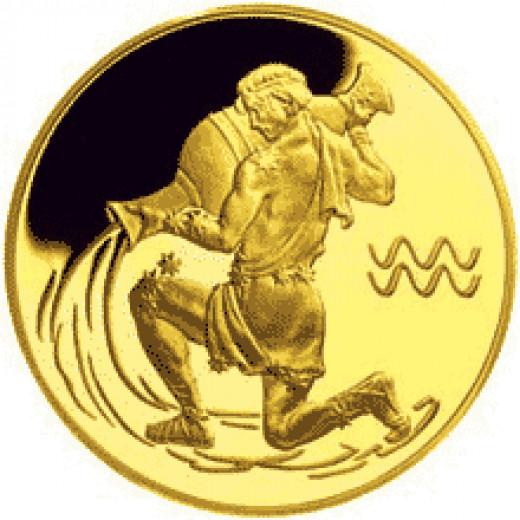 Aquarius Medallion