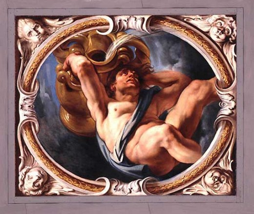 Aquarius by Jacob Jordaens