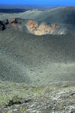 Just one of the craters at Timanfaya