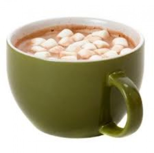 Hot cocoa warms you body and soul.