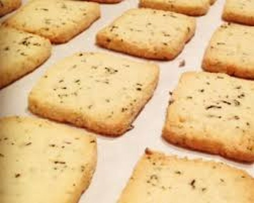 Earl Gray Shortbread Cookies