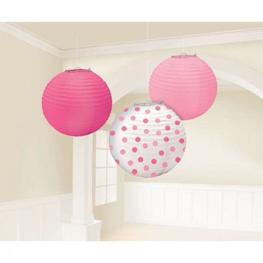 Paper lanterns are another cute but inexpensive idea.