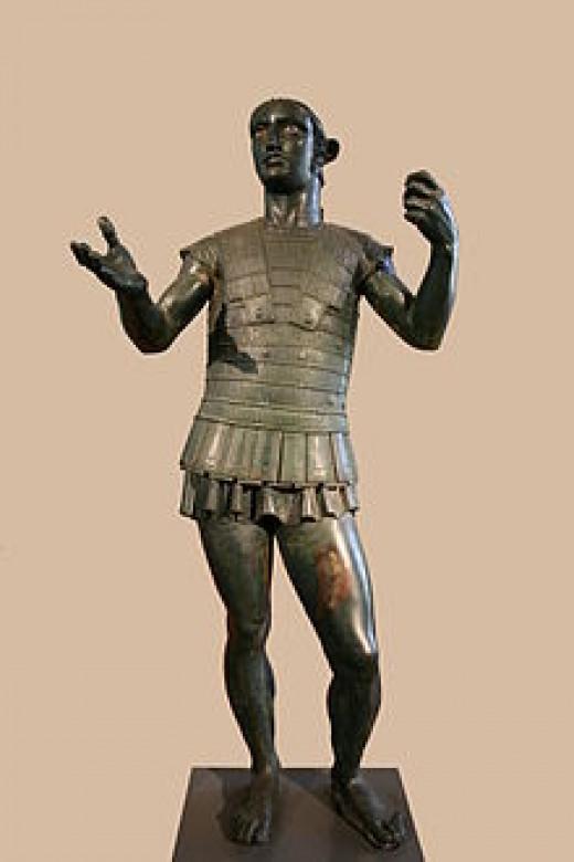 Mars of Todi, Bronze, Early 4th Century B.C.