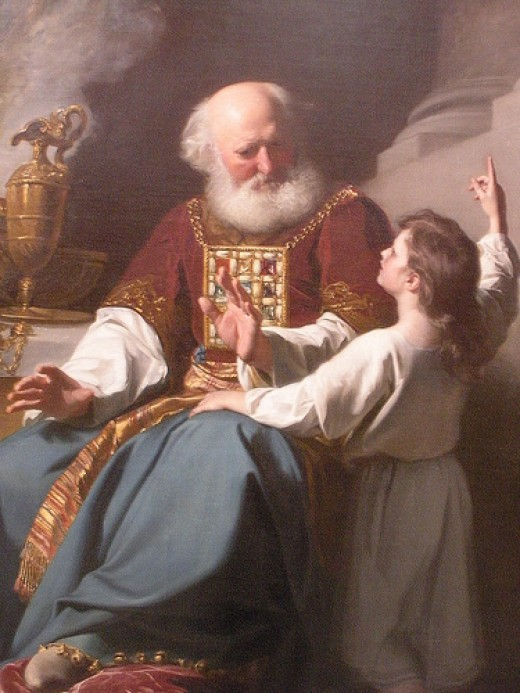 Samuel Learning from Eli / John Singleton Copley (1780)