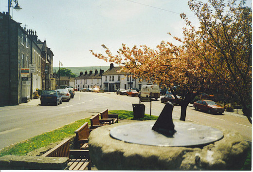Main street, Middleton-in-Teesdale, leading to Bowlees and High Force