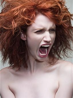 """She screams at you so loudly your eardrums play """"In A Gadda Da Vida"""""""