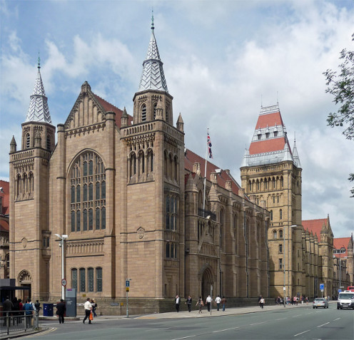 Whitworth Hall, University of Manchester