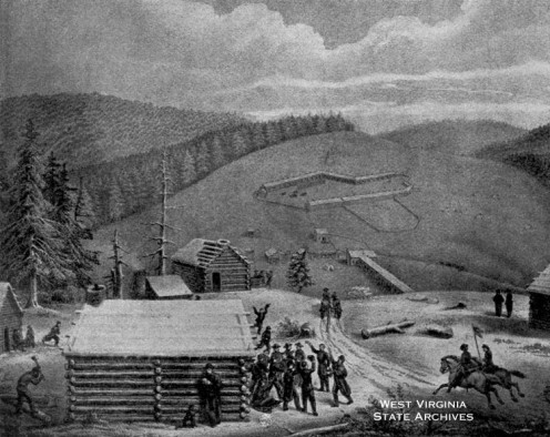 Camp at Cheat Mountain 1861