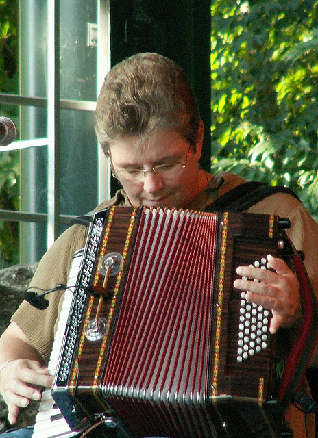 Accordion Music is very Celtic