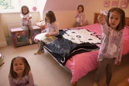 Pink Hello Kitty Bedroom