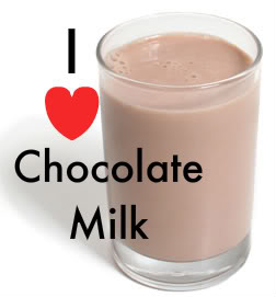 Chocolate milk is one of the best (and cheapest) choices!