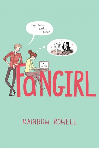 "Rainbow Rowell's ""Fangirl"" Book Cover"