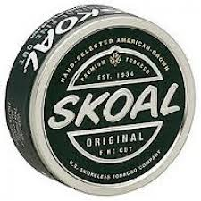 A skoal can can become a motion detection device in a matter of seconds.