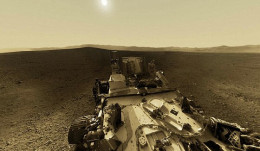 The NASA Rover on Mars