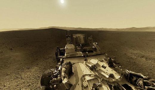 The NASA Rover on Mars