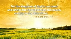 The Nature of the Kingdom of God
