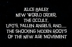 Alice Bailey, New World Order, the Occult, UFO's, Fallen Angels, and the Shocking Hidden Roots of the New Age Movement