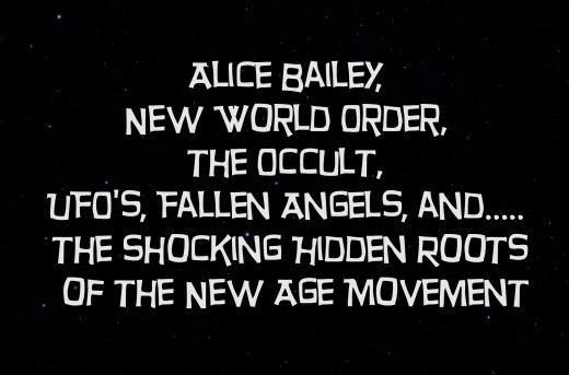 Alice Bailey, the New World Order, the Occult, UFO's, Fallen Angels, and the Shocking Hidden Roots of the New Age Movement