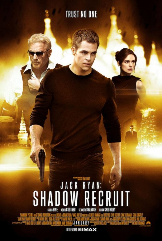 Jack Ryan - Shadow Recruit (2014) poster