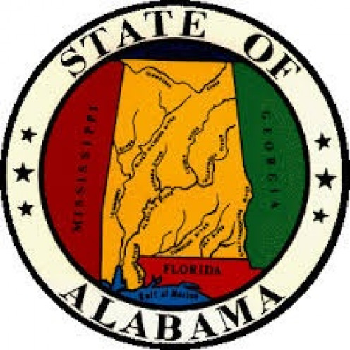 The State of Alabama is surrounded by Florida, Georgia and Mississippi.