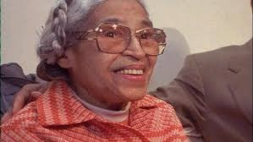 Rosa Parks was a leader and an inspiration during the Civil Rights Movement in America. She stood up against racial oppression on the south.