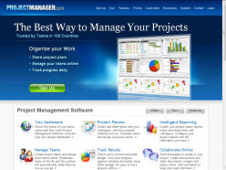 ProjectManager.com homepage