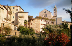 Assisi dressed in autumn colours © A Harrison