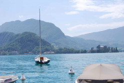 Great Cycling at Lake Annecy, France