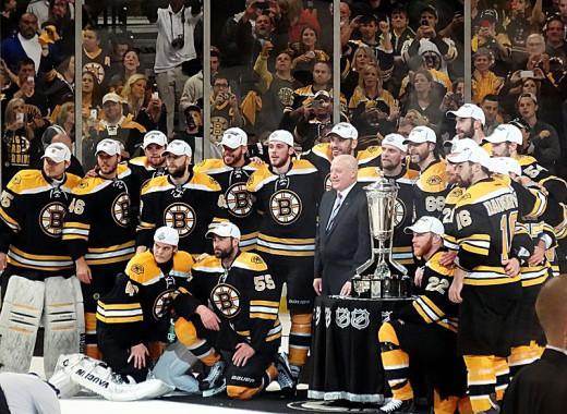 Boston's 2013 Conference Winning Team